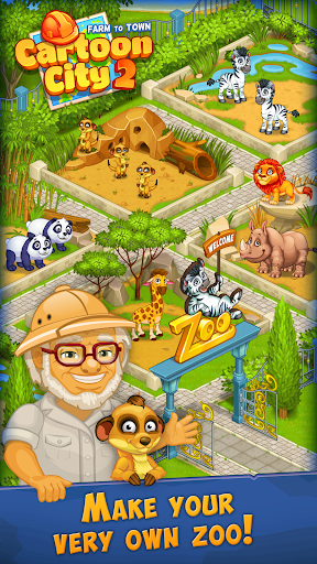Cartoon City 2:Farm to Town. Build your dream home 2.20 screenshots 19