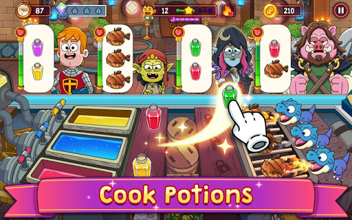 Potion Punch 2: Fantasy Cooking Adventures screenshots 9