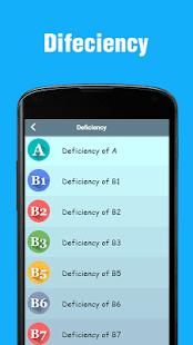 Vitamins - Sources, Deficiency & Health Tips 0.0.2 Screenshots 4