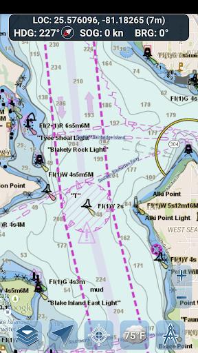 Marine Ways - Free Nautical Charts 1.24 Screenshots 2