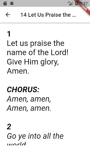 Old and New SDA Hymnal  screenshots 5