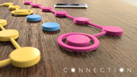 Connection - Stress Relief Dots Game  screenshots 1