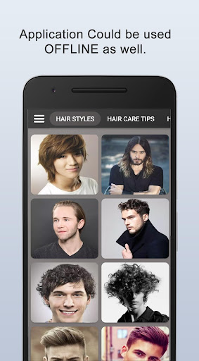 Boys Men Hairstyles and boys Hair cuts 2021 apktram screenshots 11