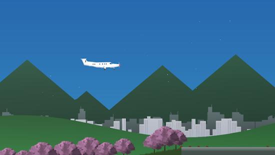 Simulatore di volo 2D - Schermata di simulazione realistica