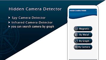 Hidden IR Camera Detector & hidden cam finder