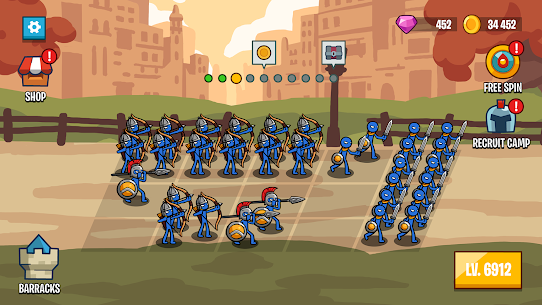 Stick Wars 2: Battle of Legions Mod (Unlimited Money) 4