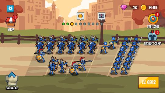 Stick Battle Mod Apk: War of Legions (Unlimited Diamond) 4