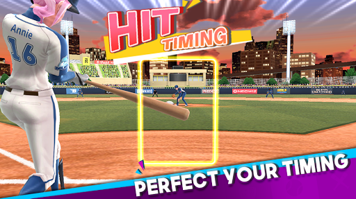 Baseball Clash: Real-time game apktreat screenshots 2