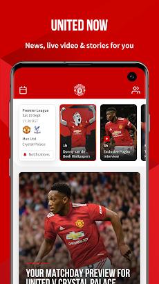 Manchester United Official Appのおすすめ画像1