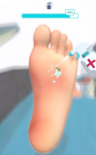 Foot Clinic - ASMR Feet Care 1.4.1 screenshots 16