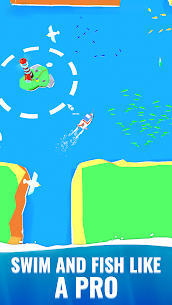 Fish idle: hooked tycoon. Your own fishing boat (MOD, Unlimited Money) 2