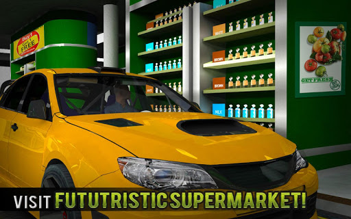 Drive Thru Supermarket: Shopping Mall Car Driving 2.3 screenshots 8