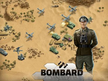 1943 Deadly Desert - a WW2 Strategy War Game screenshots 11