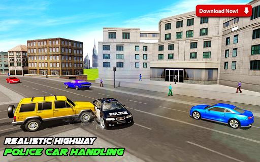 Highway Police Car Racing & Ambulance Rescue 1.3 screenshots 4