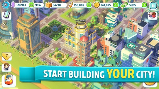 City Mania Town Building Game Mod APK Download 1.9.1a 1