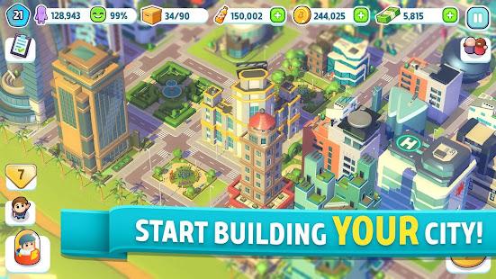 City Mania: Town Building Game screenshots 1