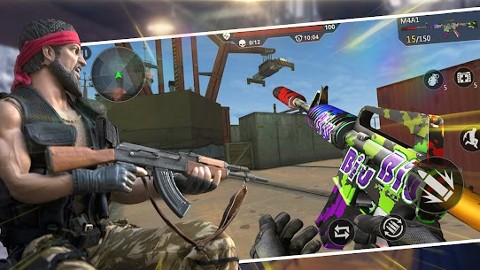 Cover Action- Free 3D Gun Shooter Multiplayer FPS 1