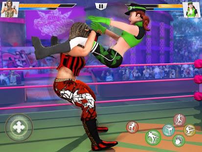 Bad Girls Wrestling Game: GYM Women Fighting Games 1.4.6 Screenshots 13
