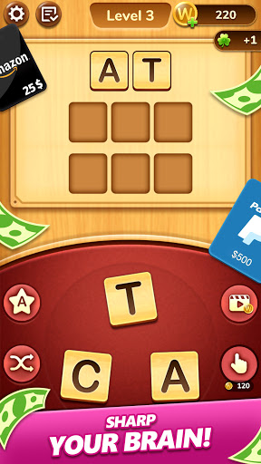 Word Connect - Lucky Puzzle Game to Big Win  Screenshots 1