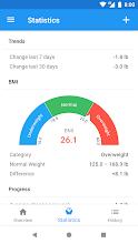 Weight Loss Tracker & BMI Calculator – WeightFit screenshot thumbnail