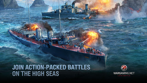World of Warships Blitz: Gunship Action War Game 4.0.1 Screenshots 2