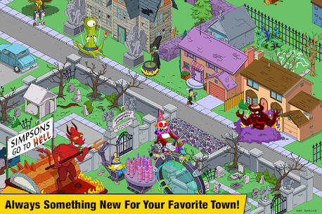 The Simpsons:  Tapped Out Mod Apk (Free Shopping) 4