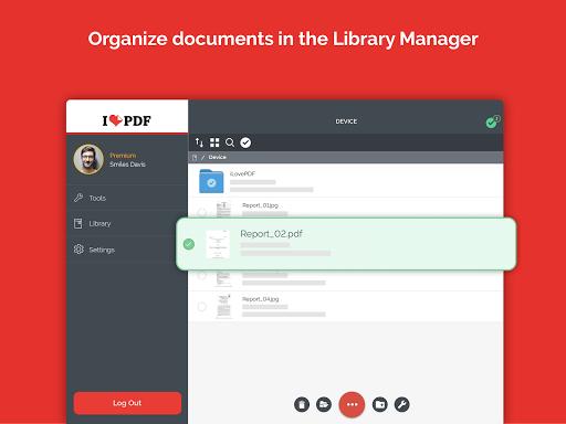 iLovePDF - PDF Editor & Reader 1.4.0 Screenshots 9