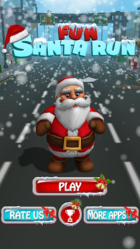 Fun Santa Run - Christmas Runner Adventure 2.7 screenshots 1