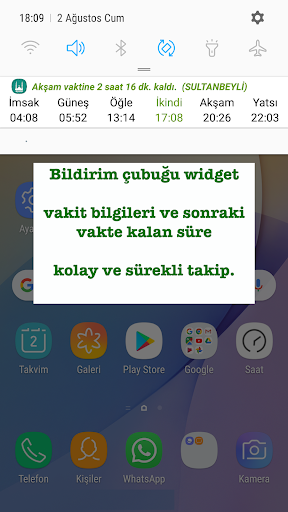 Ezan Vakti Alarmu0131 android2mod screenshots 2