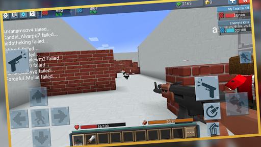 Télécharger Blockman Strike APK MOD (Astuce) screenshots 1
