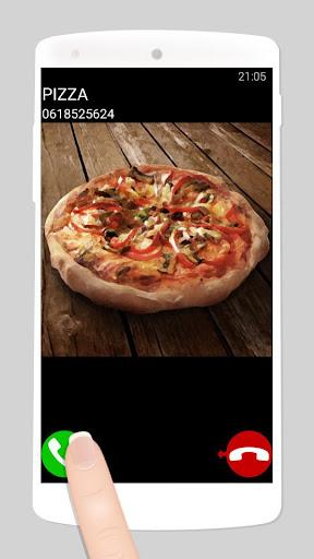 fake call pizza game  screenshots 1