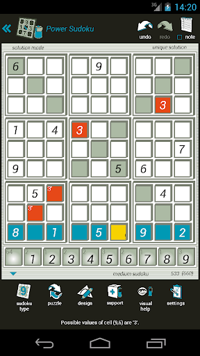 power sudoku screenshot 3