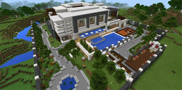 Modern Houses For Minecraft PE 2021 Apkfinish screenshots 5