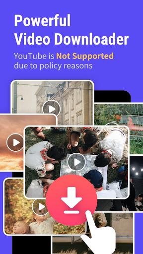 Sharego Browser: BOX Video Downloader  Screenshots 1
