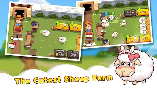 Sheep Farm : Idle Games & Tycoon screenshots 1