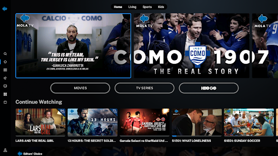 Image For Mola for Android TV Versi 1.0.14_public 2