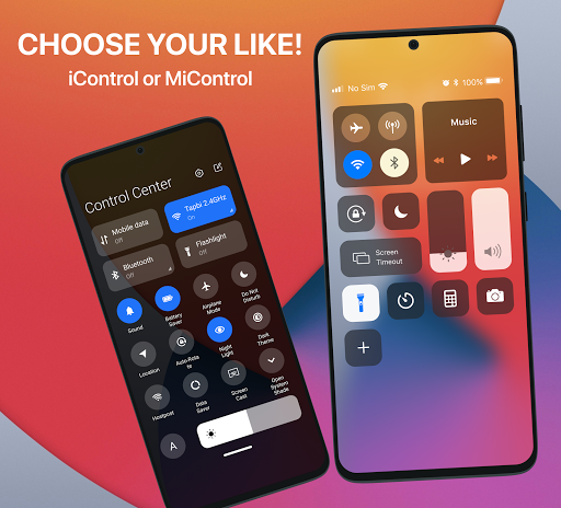 iCenter iOS14 - Control Center & iNoty iOS14  Screenshots 4