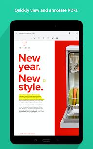 Adobe Acrobat Reader Pro Mod Apk (Pro Subscribed) 10