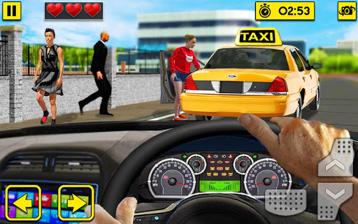City Taxi Driving Sim 2020: Free Cab Driver Games android2mod screenshots 1