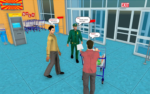 Supermarket Grocery Shopping Mall Family Game 1.8 screenshots 3