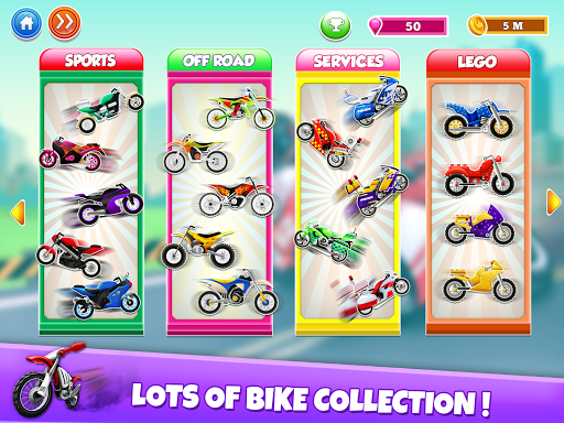 Kids Bike Hill Racing: Free Motorcycle Games 0.9 screenshots 2