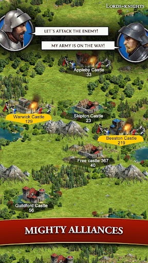 Lords & Knights - Medieval Building Strategy MMO 8.12.0 screenshots 4
