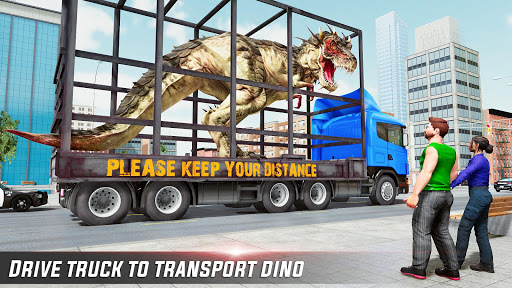 Dino Transport Truck Games: Dinosaur Game 1.6 screenshots 1