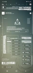 Cyberpunk Theme for KLWP 5