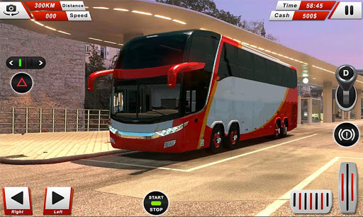 Euro Coach Bus Driving - offroad drive simulator android2mod screenshots 1