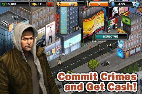 Crime City (Action RPG) apktreat screenshots 2