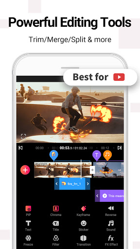 Vlog Star - free video editor & maker apktram screenshots 1