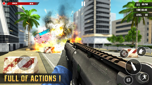 US Police Free Fire - Free Action Game modavailable screenshots 5