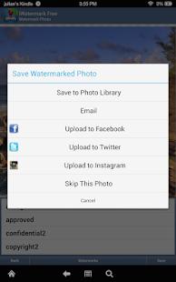 iWatermark Free Add Watermark Text Logo Pic TM