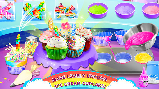 Rainbow Ice Cream - Unicorn Party Food Maker apktram screenshots 11